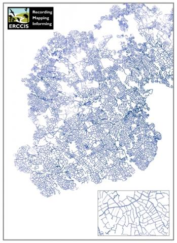 Hedges GIS Graphic